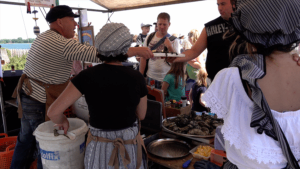 Eco Oester Yerseke Veere Toeristenmarkt plankje oesters